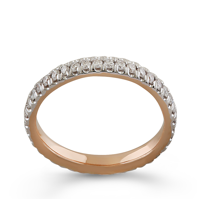 Inel Eternity Aur 18k Diamante BLANCO'S