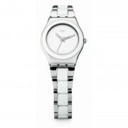 Ceas Swatch White Ceramic