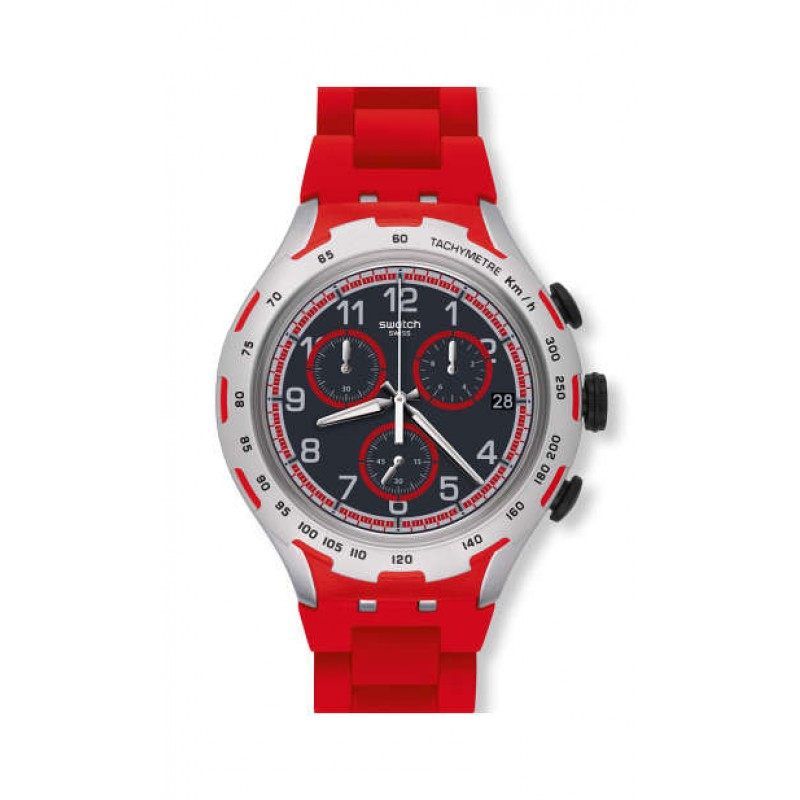 Ceas Swatch Red Attack
